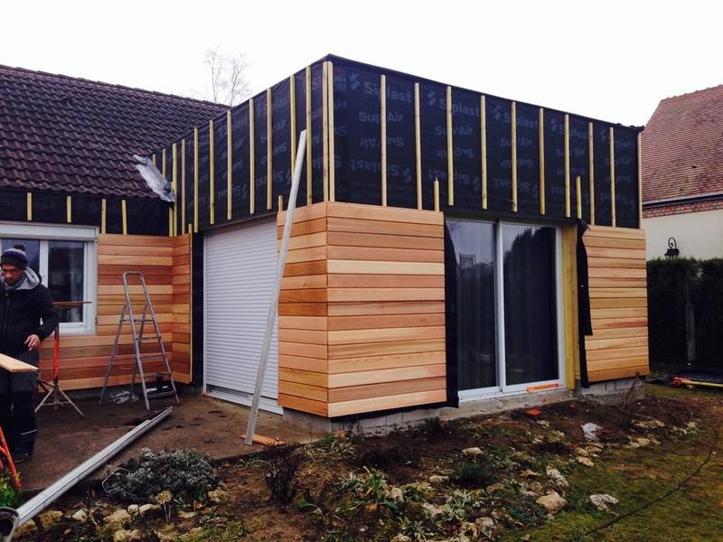 Select bois isolation thermique par l 39 ext rieur for Isolant pour exterieur